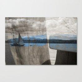 lotus tide Canvas Print