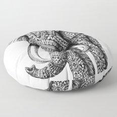 Ornate Elephant Floor Pillow