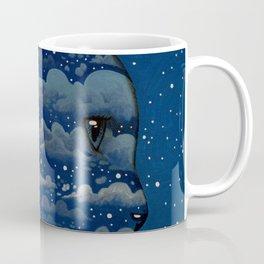 LUNA CAT by Raphaël Vavasseur Coffee Mug