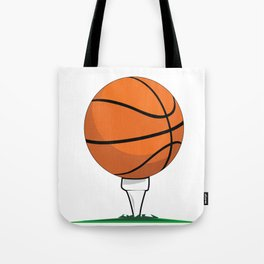 Basketball Tee Tote Bag