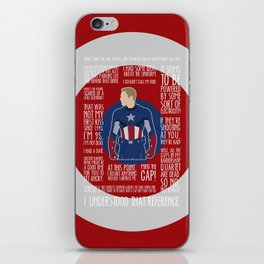 The First Avenger iPhone Skin