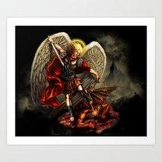 San Miguel Arcangel Art Print