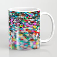 confetti Mugs featuring Confetti by Laura Ruth