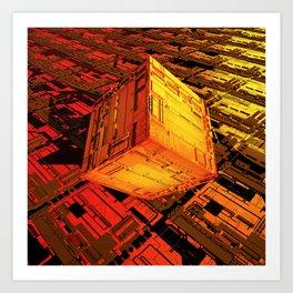 Cube Zer0 Art Print