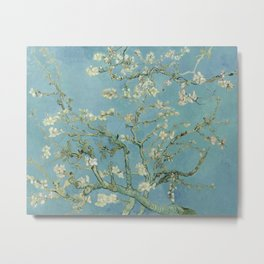 Vincent van Gogh - Almond Blossoms 1890 Metal Print