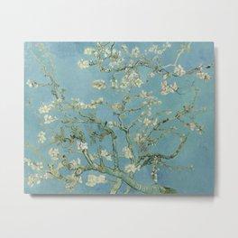 Vincent van Gogh - Almond Blossoms 1890 Metal Print