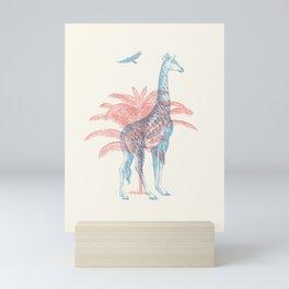 Giraffe - Where they Belong Mini Art Print