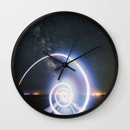 Step into my world Wall Clock