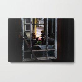 Untitled (Haapsalu window) Metal Print