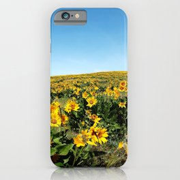 wildflower season iPhone Case