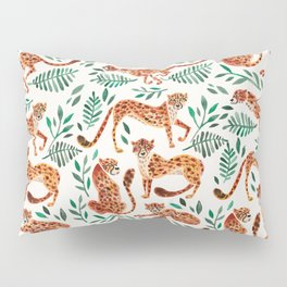 Cheetah Collection – Orange & Green Palette Pillow Sham