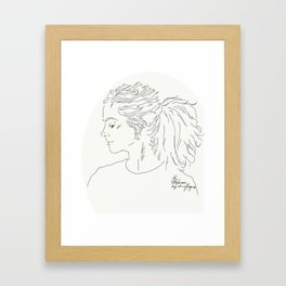 Clara Framed Art Print