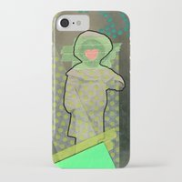 cyclops iPhone & iPod Cases featuring Cyclops by Naomi Vona