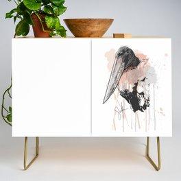 Jabiru Stork Credenza