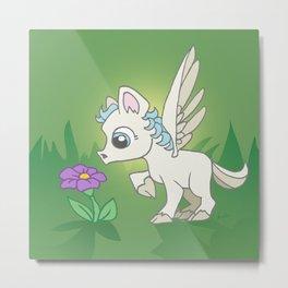 Little Pegasus Metal Print