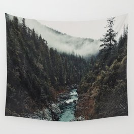 When the sky touch the wild Wall Tapestry