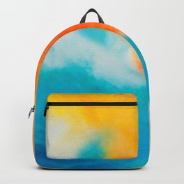 Endless Summer Abstract Painting Backpack