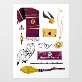 HP Tools of the Trade Art Print