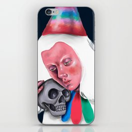 Wretched Clown iPhone Skin