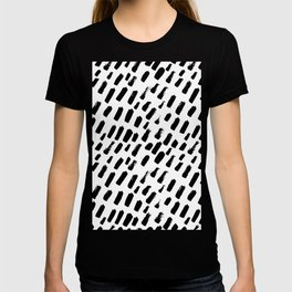 Dashing Darling - Black and White T-shirt