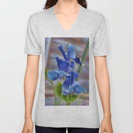 Sweet Pea Flower Unisex V-Neck