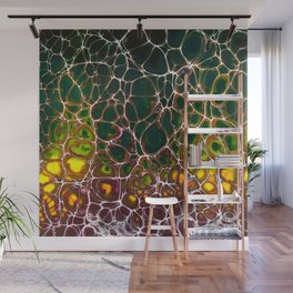 Fire Lacing Wall Mural