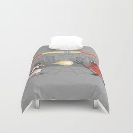 The Final Battle Duvet Cover