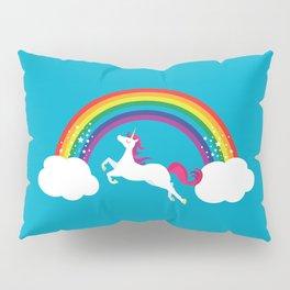 Unicorn Rainbow in the Sky Pillow Sham