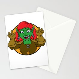Get that coin, Poco! Stationery Cards