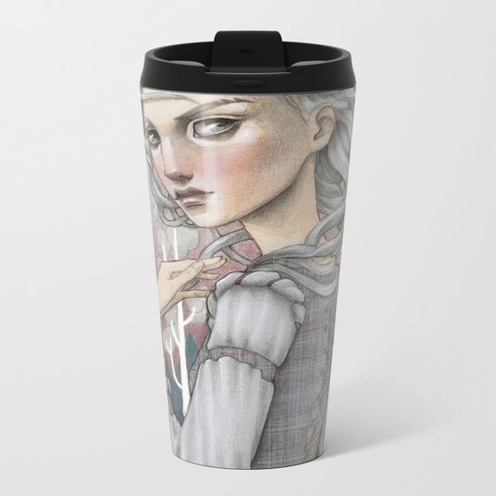 Heather Metal Travel Mug