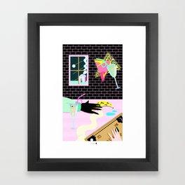 having fun Framed Art Print