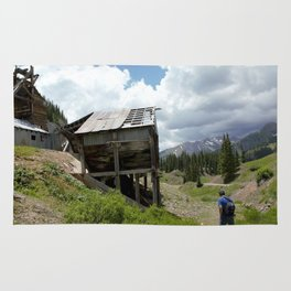 Exploring the Longfellow Mine of the Gold Rush - A Series, No. 3 of 9 Rug