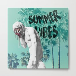 Summer vibes. Metal Print