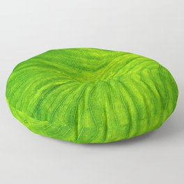 Leaf Paths Floor Pillow