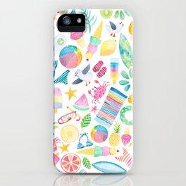 Summer Extravaganza iPhone Case