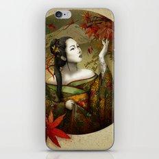 Momijigari [Maple Viewing] iPhone & iPod Skin