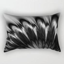 Black and White Elegance Rectangular Pillow
