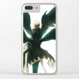 Wings of Despair Clear iPhone Case