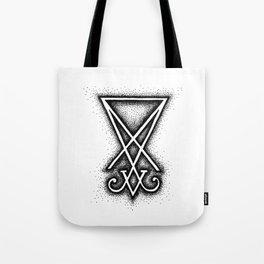 Sigil Of Lucifer Tote Bag