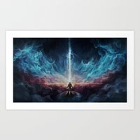 interstellar Art Prints featuring Interstellar by jasric