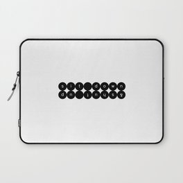 Sit Down & Shut Up Laptop Sleeve
