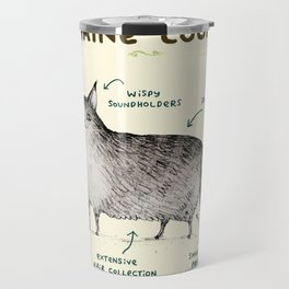Anatomy of a Maine Coon Travel Mug