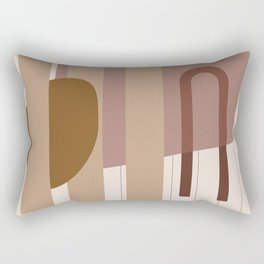 // Shape study #25 Rectangular Pillow