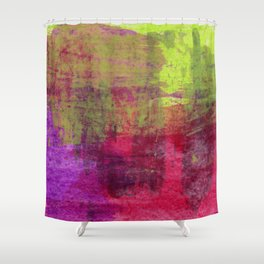 Abstract No. 453 Shower Curtain