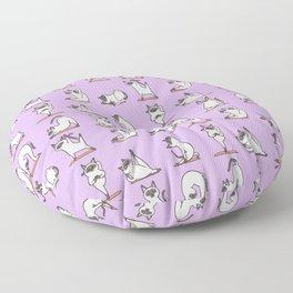 Siamese Cat Yoga Floor Pillow