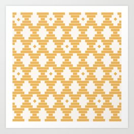 Bari Geometric Dots Art Print