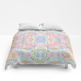 Pastel paisley Comforters