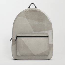 Desert Shadow No. 2  | Abstract in Neutrals Backpack