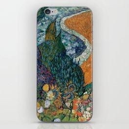 Memory of the Garden at Etten (Ladies of Arles) iPhone Skin