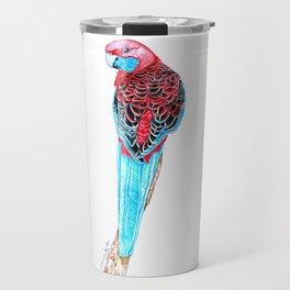 Blue Tail Parrot- The Pose Travel Mug